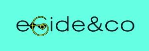 logo fond bleu